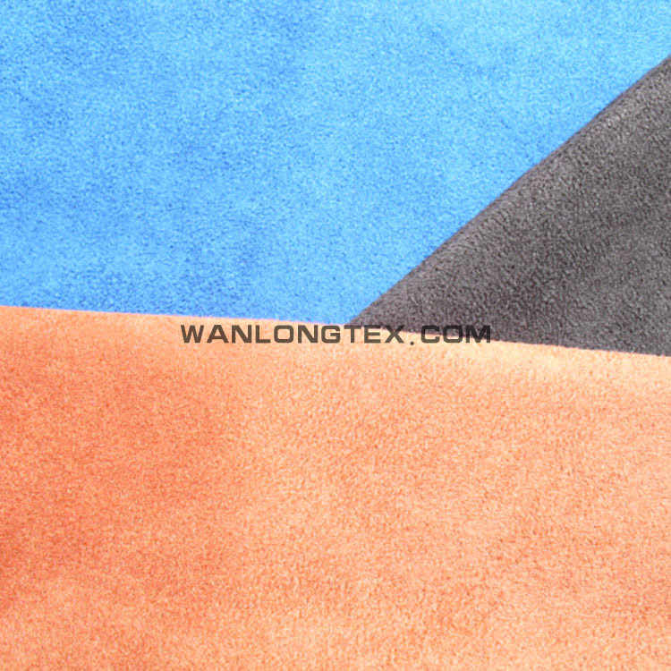 <strong>poly</strong> imitated 100% cotton suede fabric