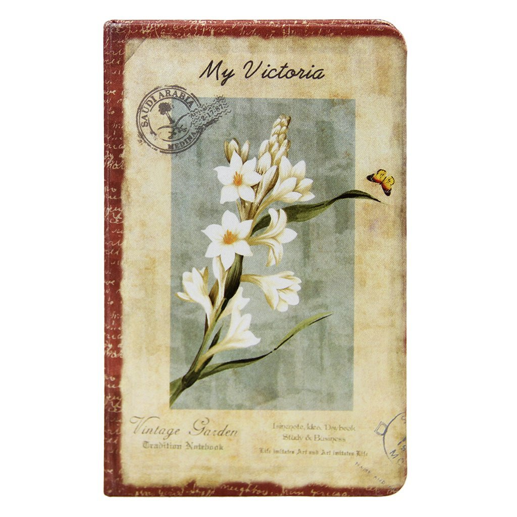 """Retro Mini Memo Pads with Blank Pages Pocket Size Lined Pages Notebook with Colored Page 5.5""""3.5"""""""