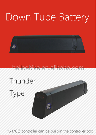 Hot sale! Thunder battery 36v 11.6ah for ebike and electric wheelchair handcycle