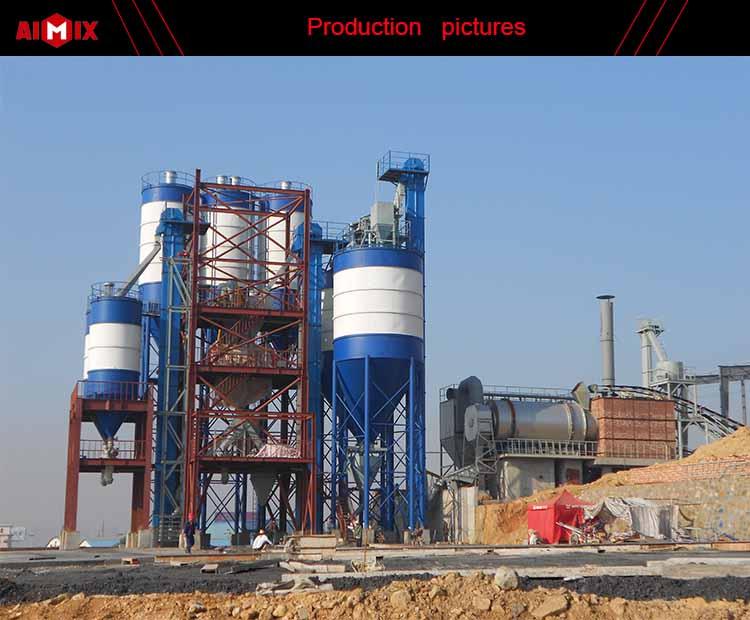 15 t/h simples equipamentos de argamassa seca da planta de mistura de argamassa seca