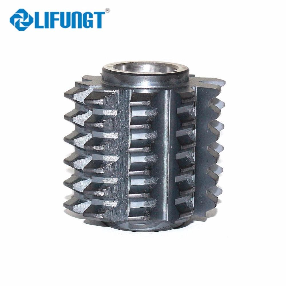 Hob cutter m0.5 HSS 20 deg gear thread involute 25mm dia free shipping