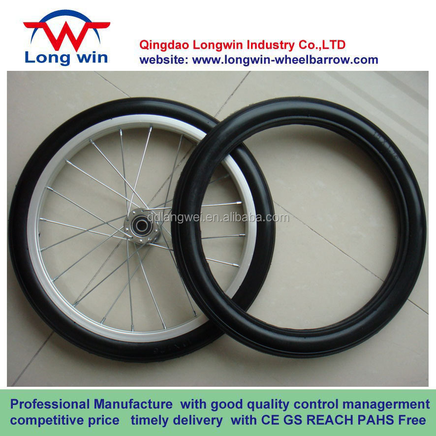 bike pu foam wheel 16x1.75