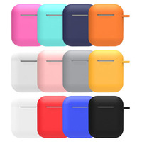 New 2019 bluetooth headphones airpods skins for Apple AirPod case cover earphone cases protective covers silicone charging skin