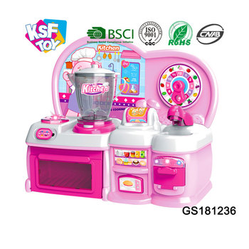 Pretend Play Big Kitchen Set Cooking Toys For Children Buy Cooking