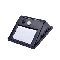 New Product Design Super Bright Security Garden Waterproof Wireless Motion Sensor 20 led Solar Wall Lights