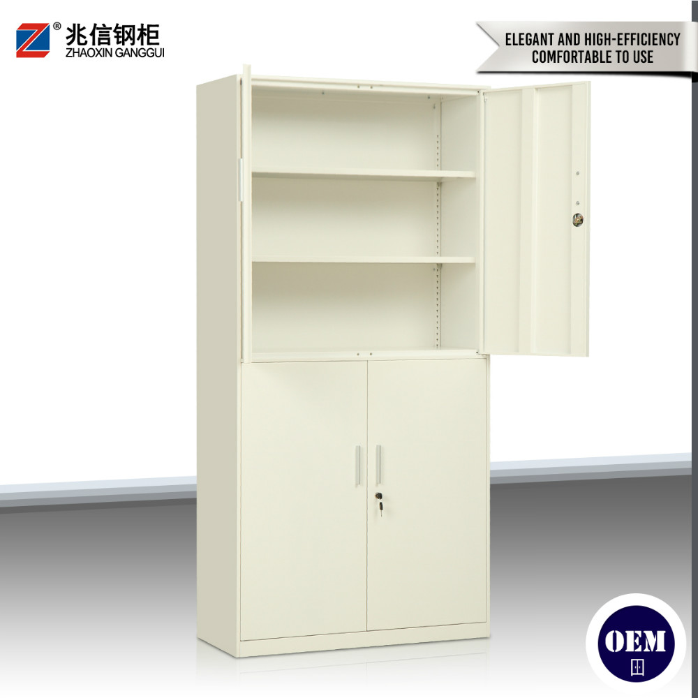 office furniture swing door steel file cabinet with 4 doors