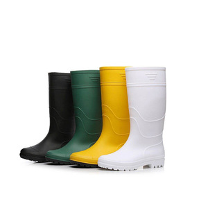 CE High Heel oil resistant non-slip food cold storage factory safety boots