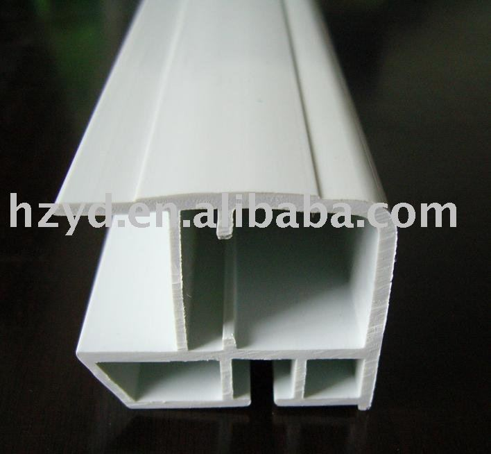 PVC extrusion products hollow glass frame for shower