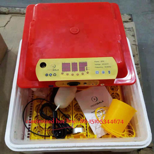 80w 56 egg CE approved easy to use quail duck chicken goose brolier egg incubator hatchery for sale