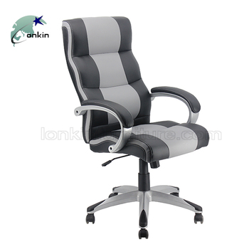 Swivel Rotating Chair Office Comfortable Luxury Leather Executive High Back  Office Chair