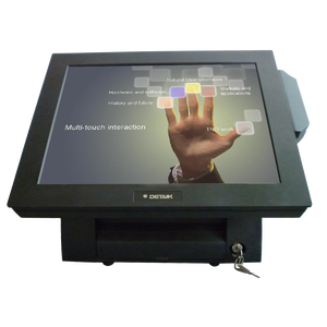 Restaurant Touch POS orders machine