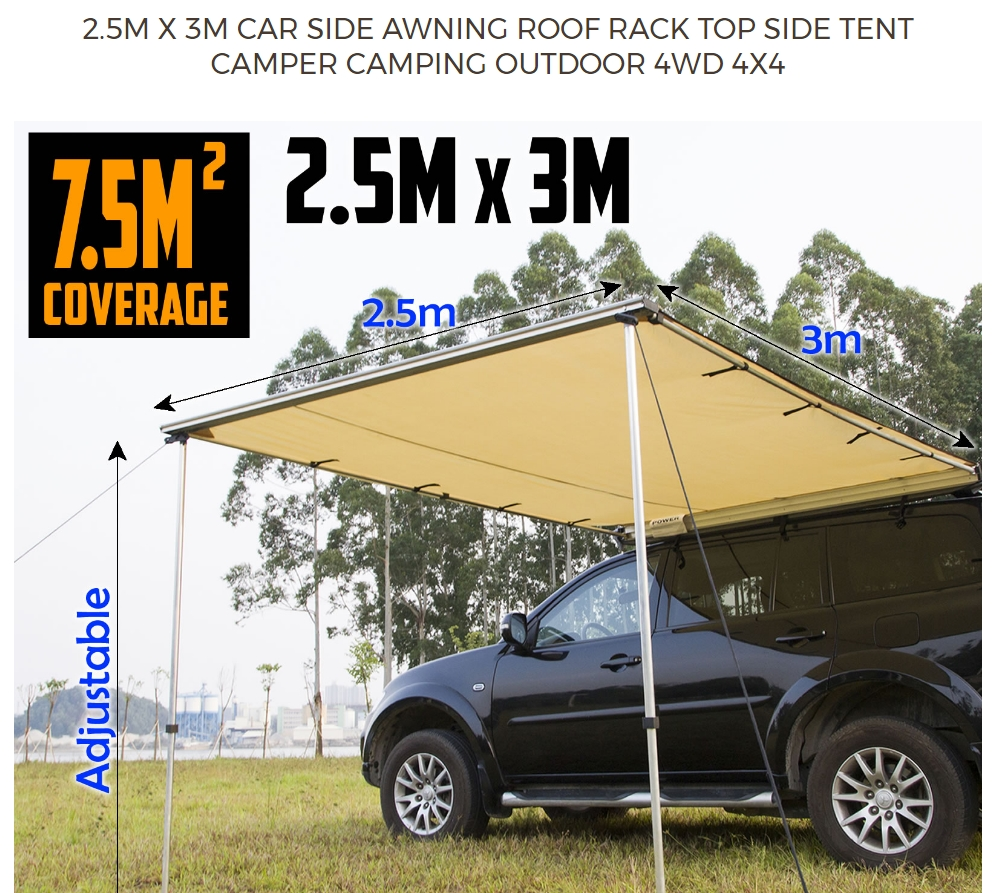 2017 New 4x4 Accessories Awning Tent Camping Car Side