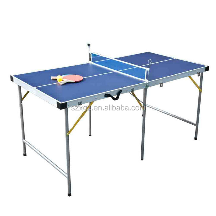 5FT Mini Table Tennis Set Small Size Ping Pong Table For Sale