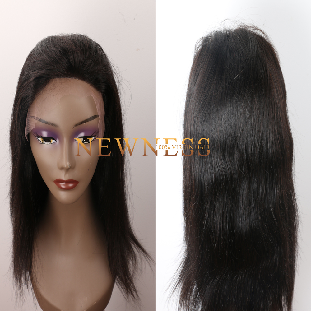 High quality 100% real remy human hair full lace wig