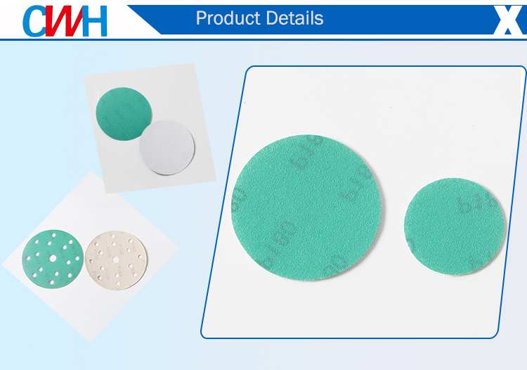 Aluminum oxide abrasive polishing 350mm sanding disc