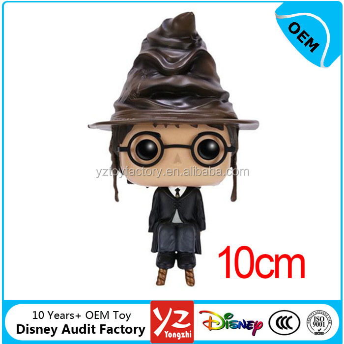 Custom plastic funko pop figure TV and movie theme Keychain hot toys ICTI factory