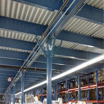 Steel Structure Mezzanine Floor Suspended Steel Floor Steel Mesh