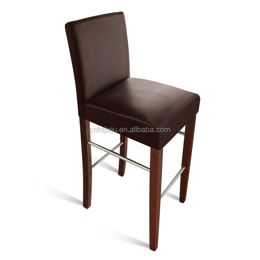 hot sale modern solid wood bar stool, solid beech Barstool Monte use for hotel/restaurant/home dining chiar furniture