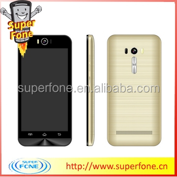 Latest F1 5.0 Inch IPS screen 960*540 pixels 2G Quad band With TPU Case Android 4.4 Smartphone