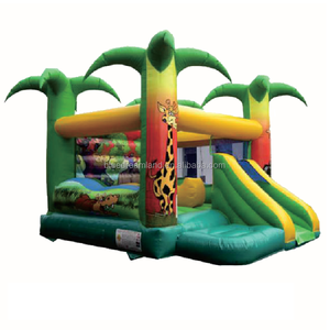 Hot new products shanghai inflatable bouncer inflatable toy with front cover