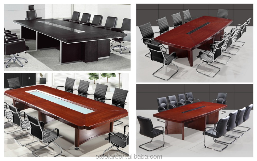 modern 12 person modular meeting room conference table
