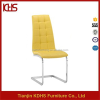 new design yellow leather good price dining chair cover australia