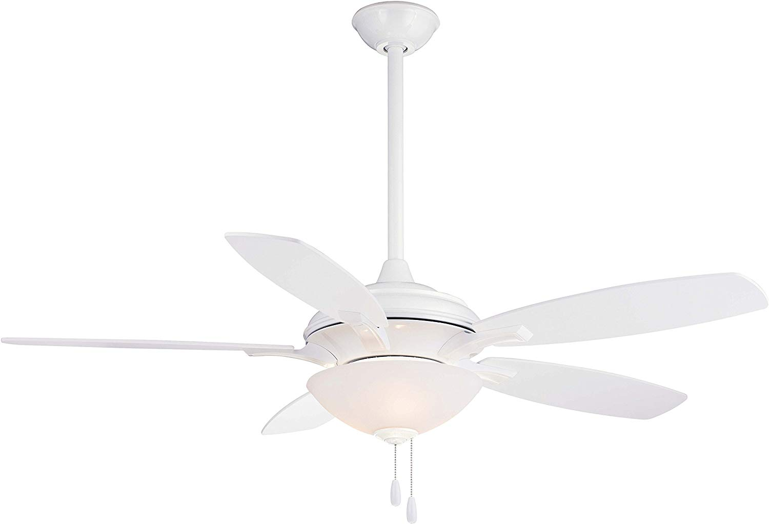 "Minka-Aire F470-WH, Hilo White 52"" Ceiling Fan with Light"