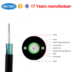 GYXTW 12 Core single mode G652D fiber optic cable best selling products optical fiber products