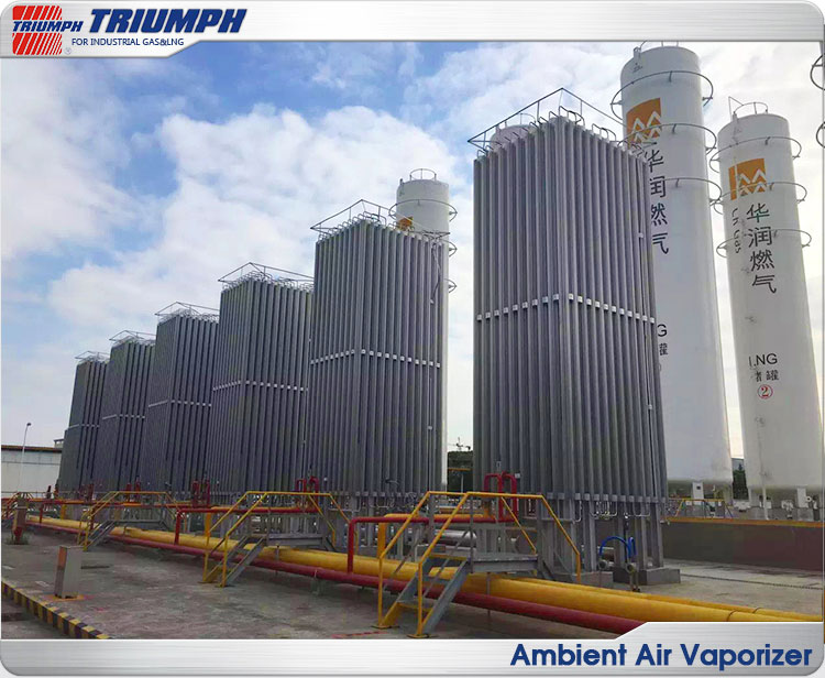 TRIUMPH provided black/anodizing Air temperature vaporizer/LNG Vaporizer