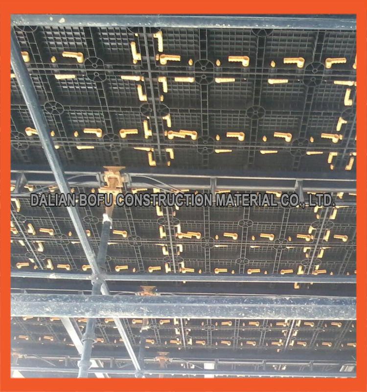 Chinese plastic modulaire bekisting systeem voor beton muur en kolom en plaat in bouw en - Modulaire muur ...