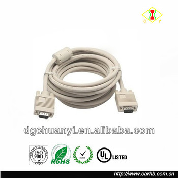 factory supply d-sub male connector wiring diagram vga cable