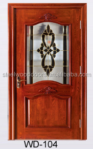 Single Main Entry Wooden Room Door Models