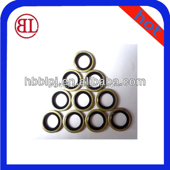 Rubber O-Ring Flat Washers/Gaskets Metal Rubber Compound Gasket ...