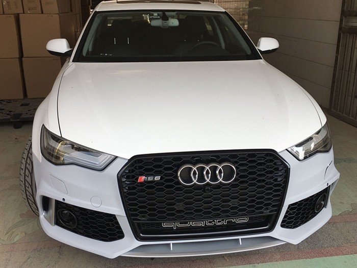 2016 New A6 Rs6 Bodykit Suit For Audi A6 S6 Rs6 Bumper