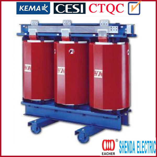 High quality epoxy resin cast dry type transformer 160kva