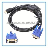 15pin VGA male/male male/female monitor cable 30-pin to rca cable