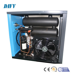 885 W Good Deal Screw Air Compressor Refrigerated Compressed Air Dryer