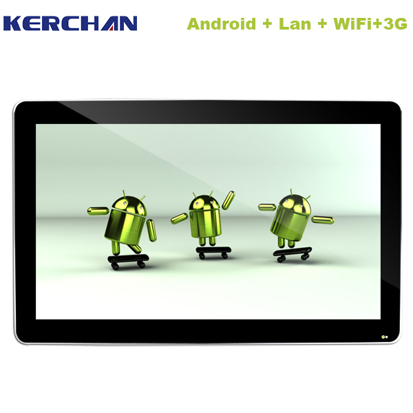 Distributors wanted 46 inch Android 3g&wifi durable wall hanging lcd dental monitor screen