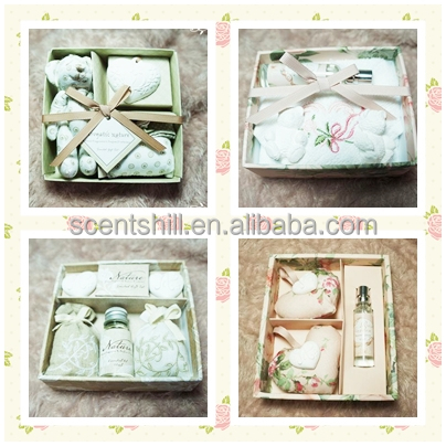 Make room/car scents long lasting refillable wholesale scented fabric sachet and stone sets