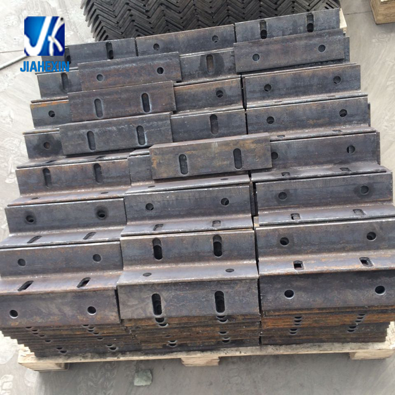 OEM Sheet Metal Fabrication Steel Stamping angle bracket