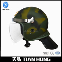 Security Protection Full Face PC Visor Military Helmet
