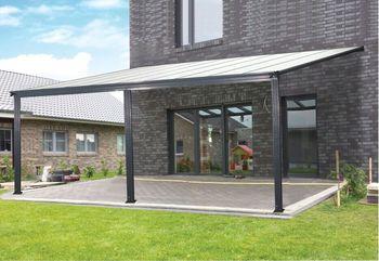 Aluminum Pergola / Big Door Awning/open Sun Room Patio Cover/canopy/carport