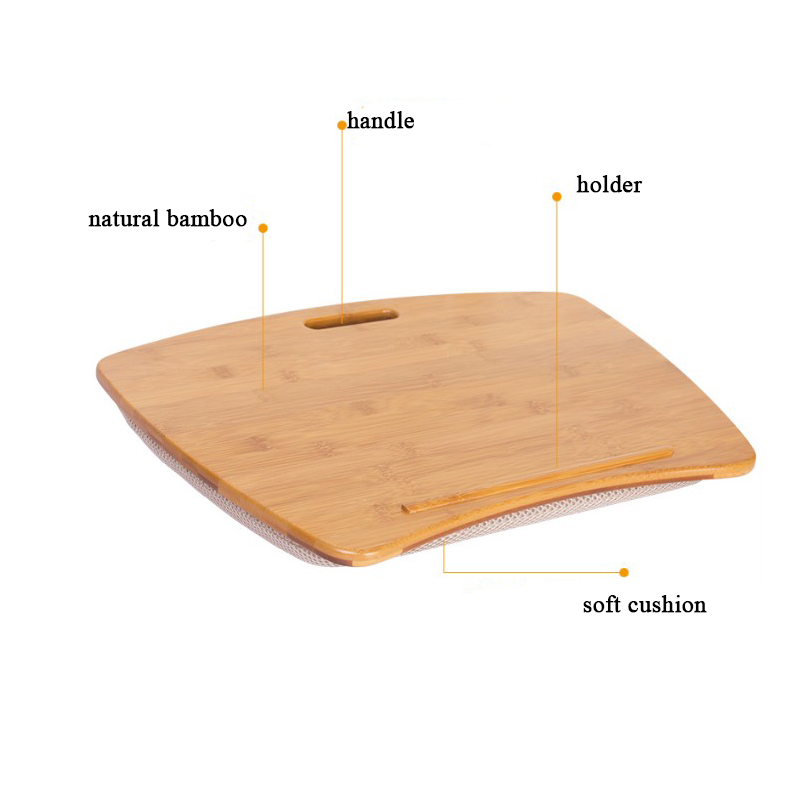 Super Bamboo Laptop Lap Desk Of Extra Large Size Portable Jumbo Laptop Desk Tray With Detachable Cushion Buy Laptop Desk Laptop Tray Laptop Cushion Tray Interior Design Ideas Truasarkarijobsexamcom