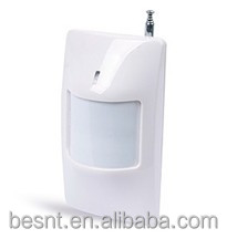 BESNT Security wired alarm system, Wireless Intelligent Dual Element Infrared Detector BS-FD812R