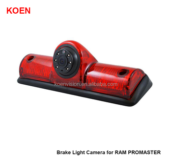 Car Brake Light Backup Camera for RAM PROMSATER LED Light Parking Reverse Camera 600TV Line