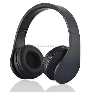 2016 hot selling new developed high quality fashionable wired bluetooth headphone wireless waterproof headphone stereo headphone