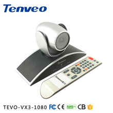 TEVO-VX3-1080 hot selling 3x optical zoom video conference camera for online video church / education / broadcast