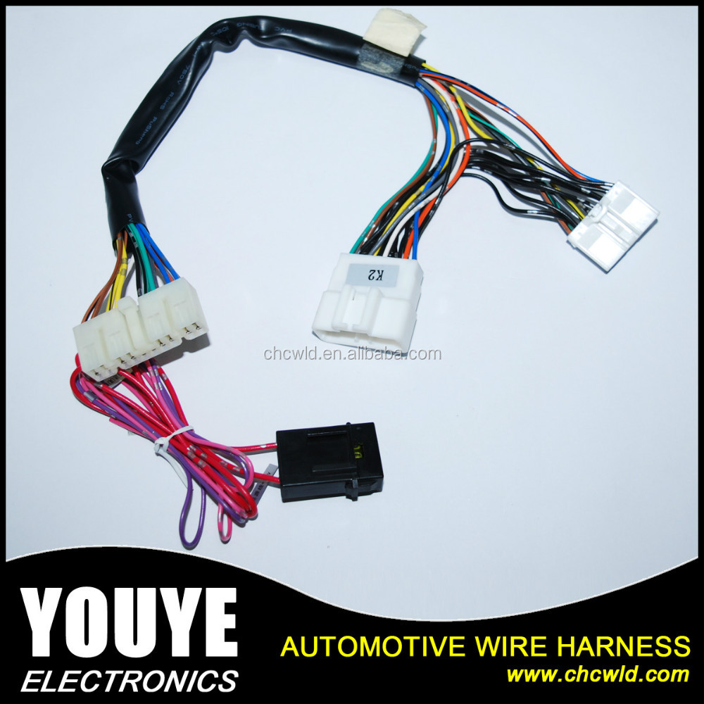 2016 YOUYE OEM Automotive part Factory power window auto wiring harness