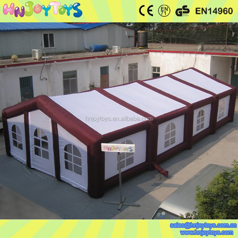 Factory direct sale large inflatable event tents for sale