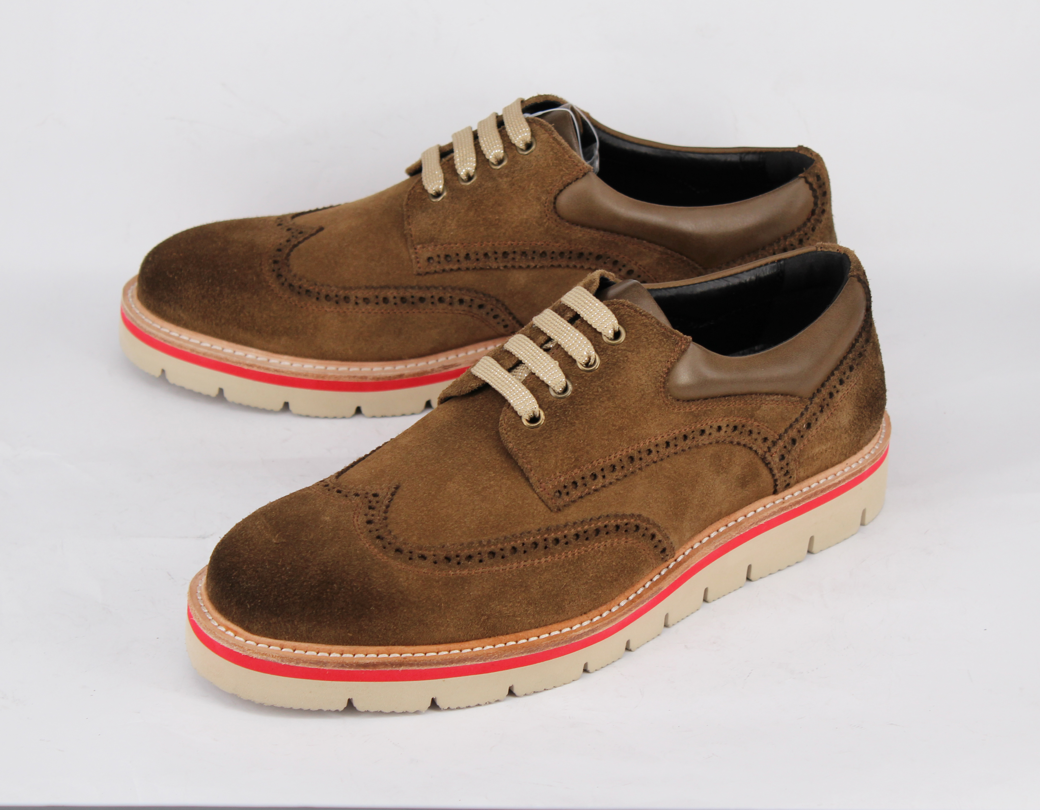 suede casual Low shoes cut men China brown cow factory top leather for YUZYq